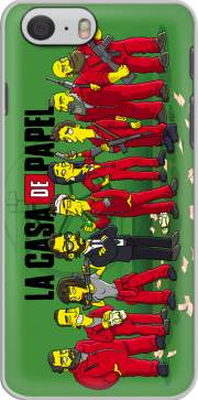 skal Casa de papel mashup Simpson för iphone-6