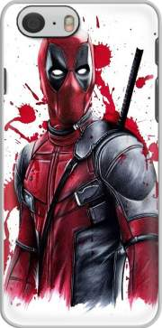 skal Deadpool Painting för iphone-6