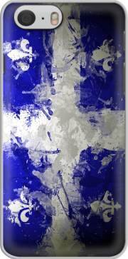 skal Drapeau Quebec Peinture for Iphone 6 4.7