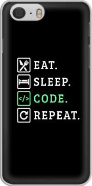skal Eat Sleep Code Repeat för iphone-6