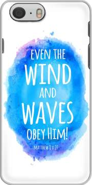 skal Even the wind and waves Obey him Matthew 8v27 for Iphone 6 4.7