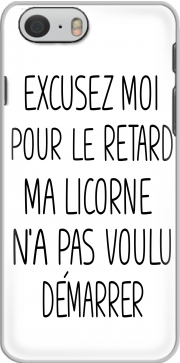 skal Excusez moi pour le retard ma licorne na pas voulu demarrer for Iphone 6 4.7