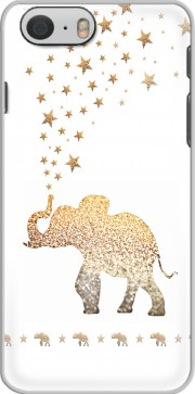Gatsby Gold Glitter Elephant skal för Iphone 6 4.7