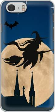 skal Halloween Moon Background Witch for Iphone 6 4.7