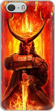 skal Hellboy in Fire for Iphone 6 4.7