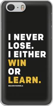 skal i never lose either i win or i learn Nelson Mandela for Iphone 6 4.7