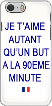 skal Je t aime autant qu un but a la 90eme minutes for Iphone 6 4.7
