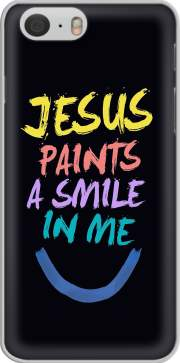 skal Jesus paints a smile in me Bible for Iphone 6 4.7