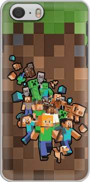 Minecraft Creeper Forest skal för Iphone 6 4.7