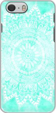 Mint Bohemian Flower Mandala skal för Iphone 6 4.7