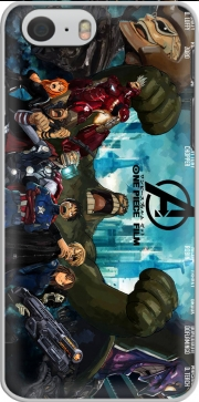 skal One Piece Mashup Avengers for Iphone 6 4.7