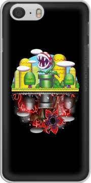 skal Plants Mario x Upside Down Stranger Things for Iphone 6 4.7