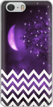 Purple moon chevron skal för Iphone 6 4.7