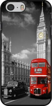 Red bus of London with Big Ben skal för Iphone 6 4.7