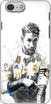 skal Sergio Ramos Painting Art for Iphone 6 4.7