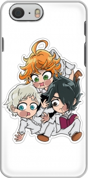 skal The Promised Neverland Emma Ray Norman Chibi for Iphone 6 4.7