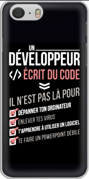 skal Un developpeur ecrit du code Stop for Iphone 6 4.7