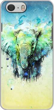 watercolor elephant skal för Iphone 6 4.7