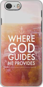 skal Where God guides he provides Bible for Iphone 6 4.7
