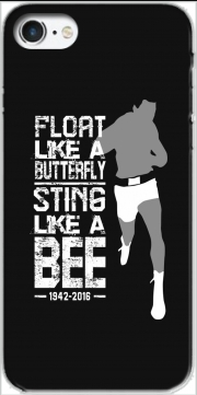 skal Float like a butterfly Sting like a bee för Iphone 7 / Iphone 8