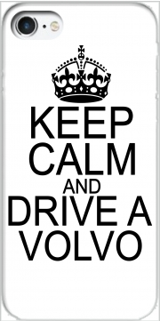 skal Keep Calm And Drive a Volvo för Iphone 7 / Iphone 8