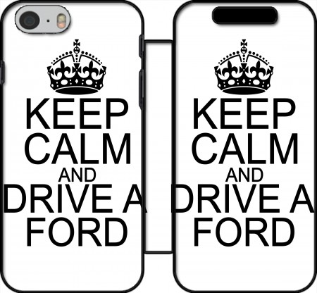 Fodral bok Keep Calm And Drive a Ford för Iphone 6 4.7